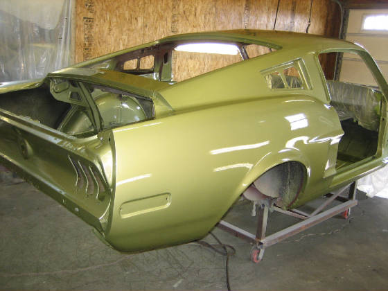 1968 Camaro Z28 >> 1968 S-code GT 390 Fastback